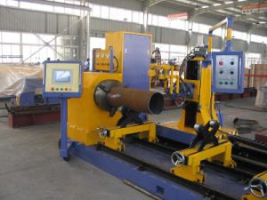 CNC Steel Tube Cutting Machine Profile Plasma Cutting Machine pictures & photos