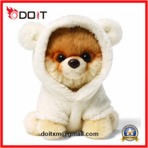 Itty Bitty Boo Cute Plush Dog Toy in Bear Suit pictures & photos