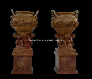 Stone Carving Statuary Urn, Flowerpot, Marble Vase (VS307) pictures & photos