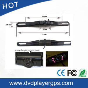 Universal Car License Plate Front Camera with Night Vision pictures & photos