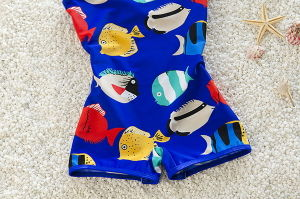 High Elasticity Kids Boy Swimwear at Lowest Price pictures & photos