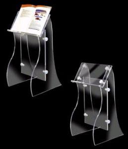 Acrylic Book Stand (AL-A-0017)