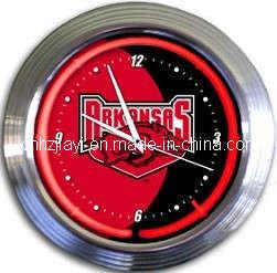 Arkansas Neon Clock