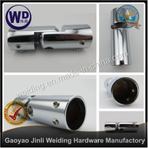 Shower Round Tube Support Bar Bracket Tube Connector Wt-6623 pictures & photos