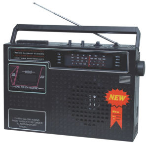 Professional Multi-Bands Portable Radio Cassette Recorder Player (PS-306)