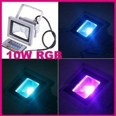 Waterproof IP65 Floodlight 10W RGB LED (EW_FLRGB10W) pictures & photos
