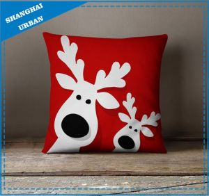 Home Decoration Printed Polyester Throw Pillow pictures & photos