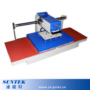Heat Press Machine Pneumatic Double Station T-Shirt Printing Machine pictures & photos