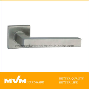 Stainless Steel Door Handle on Rose (S1135) pictures & photos