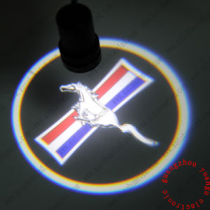 Play&Plug LED Car Door Mustang Logo Laser Projector Light