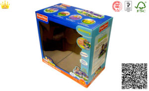 Corrugate Box with PVC Window/Corrugated Window Boxes (mx-061) pictures & photos