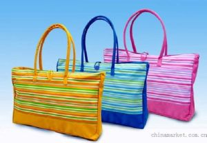 Popular Colorful Canvas Tote Shopping Bag in Special Printing pictures & photos
