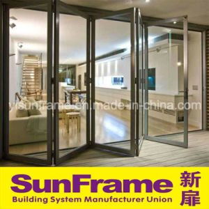 Aluminium Bi-Folding Thermal Break Door pictures & photos