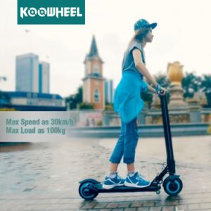 Koowheel New Original Mini Folded Lithium Battery Mobility Electric Kick Scooter pictures & photos
