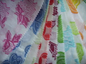 Colored Damask Fabrics pictures & photos