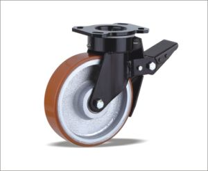 Swivel Caster With Polyurethane Wheel pictures & photos