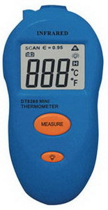 Dt-8260 Digital Portable IR Thermometer pictures & photos