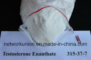 White Crystalline Powder Muscle Building Steroids Test Enan 315-37-7 Testosterone Enanthate pictures & photos