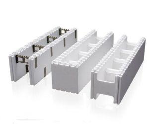 China icf insulation construction block machine china for Icf block prices