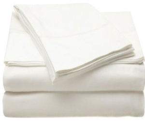 Hotel Plain Collection Cotton Sheet Set (DPFF8021) pictures & photos