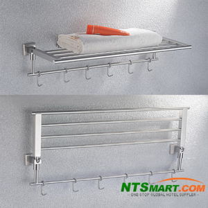 Bathroom Fitting-Double Bath Towel Shelf (N000007717) pictures & photos