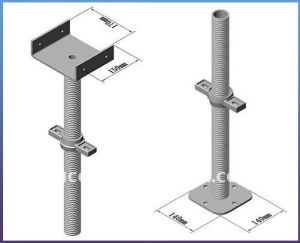 U-Head Scaffolding Screw Jack