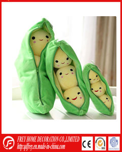 Cute Plush Peasecod Toy with Seed CE pictures & photos