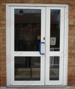 Soundproof Aluminum Sliding Door (BHA-DK07) pictures & photos
