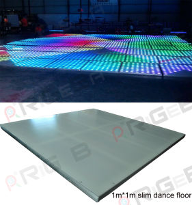 Super Slim 1m*1m LED Digital Dance Floor pictures & photos