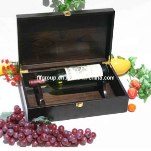 SGS Audited Supplier Luxury Custmized Wooden Two Bottle Wine Box pictures & photos