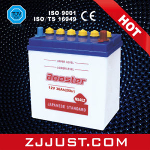 Dry Charge Battery Auto Car Battery Rechargeable Storage Battery (NS40Z) pictures & photos