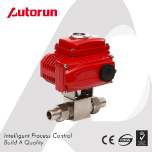 Anti Explosion Electric High Pressure Stainless Steel Ball Valve pictures & photos
