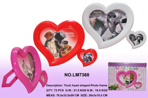 Two Heart Shape Photo Frame Commodity