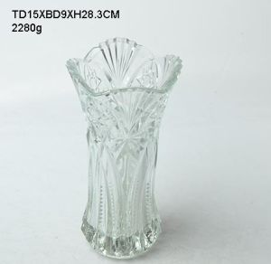 Glass Vase/Glassware/Vase (40-0217-SV) pictures & photos