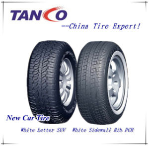 White Side Wall Rib Tire P215/75r15 P235/75r15 pictures & photos