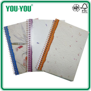 Single Spiral Notebook of A4-A7/Notebook with Pocket