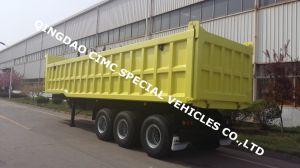 35cbm Tipper Dump Semi Truck Trailer pictures & photos