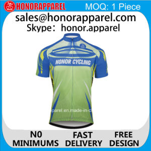Quick Dry Anti-Bacterial Short Sleeve Cycling Jersey and Cycling Wear