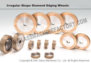 Sanken Glass Diamond Polishing Wheel for Glass Grinding & Polishing pictures & photos
