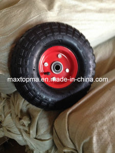 Maxtop Pneumatic Trolley Rubber Wheel pictures & photos
