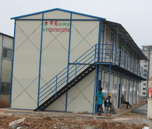 Sandwich Panel Steel House for Living or Office Building