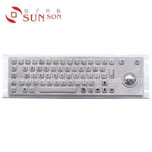 Metal Keyboard With Trackball (SPC365AG)