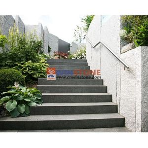 White/Grey/Black/Green/Red Granite Steps (Stairs)