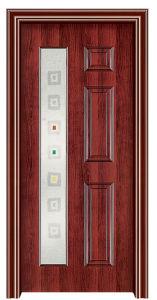 Interior Steel Wooden Door (FXGS-077) pictures & photos