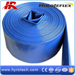 PVC Layflat Discharge Water Hose for Irrigation pictures & photos
