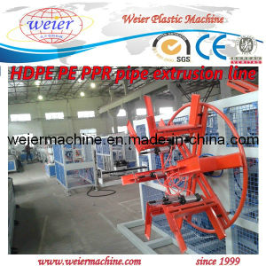 Plastic HDPE Pipe Manufacture Machine Plant pictures & photos