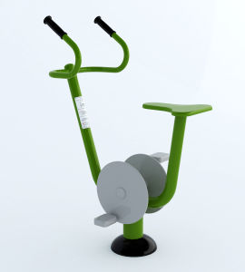 New TUV Stationary Bike of Outdoor Fitness Equipment for Adult pictures & photos