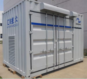 Container Room for a Solar PV Inverter