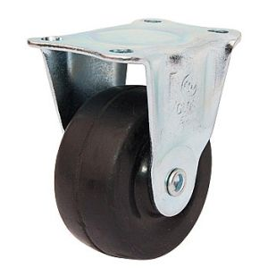 50 mm Light Duty Wheel Fixed Rubber Caster pictures & photos