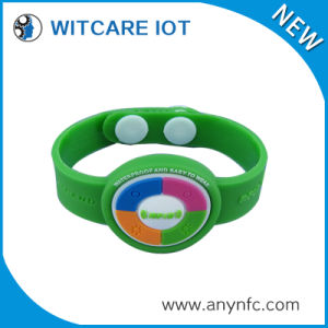 Silicone RFID Wristband Hf (13.56MHz ISO14443A)